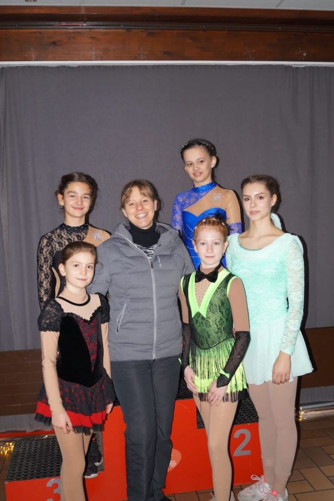 Photo of Erfolgreiches Wochenende für Wiehler Eiskunstläuferinnen