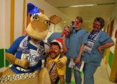 Handballer mit Herz für kranke Kinder