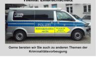 Beratungsstelle der Polizei am 28. Januar in Bergneustadt