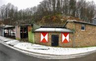 Brand am Clubhaus der Gummersbacher Hells Angels