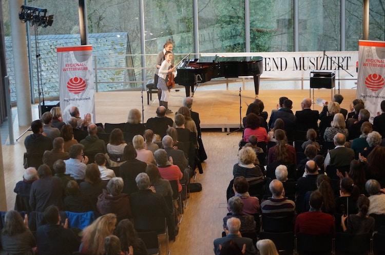 Photo of Auf Schloss Homburg musiziert die Jugend