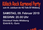 Ü60 Karneval Glück-auf-Halle Wildberg
