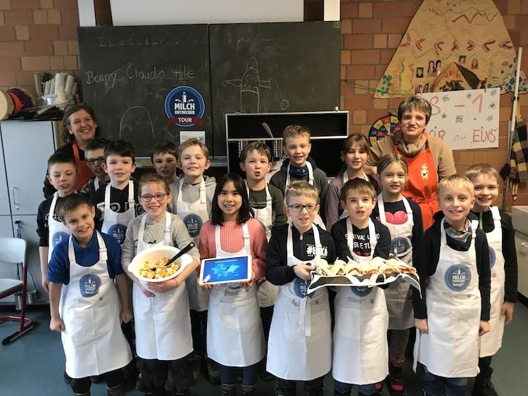 Photo of Gummersbacher Grundschüler werden zu Milchentdecker