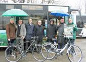 Neue Angebote zum 3. Saisonstart der Bergischen FahrradBusse