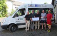 Waldbröler Bürgerbus-Verein freut sich über Spende