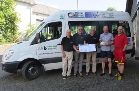 Photo of Waldbröler Bürgerbus-Verein freut sich über Spende