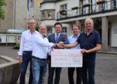 Geistliche Sänger sammeln 2.350 Euro