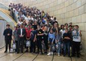 Schüler der Sekundarschule aus Bielstein besuchten den Landtag