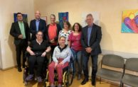 Vernissage der Projektgruppe Kunstfalter in Morsbach