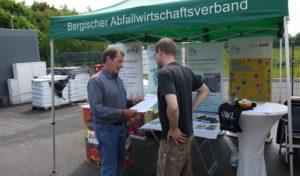 Abfallberatung des Bergischen Abfallwirtschaftsverbandes berät vor Ort