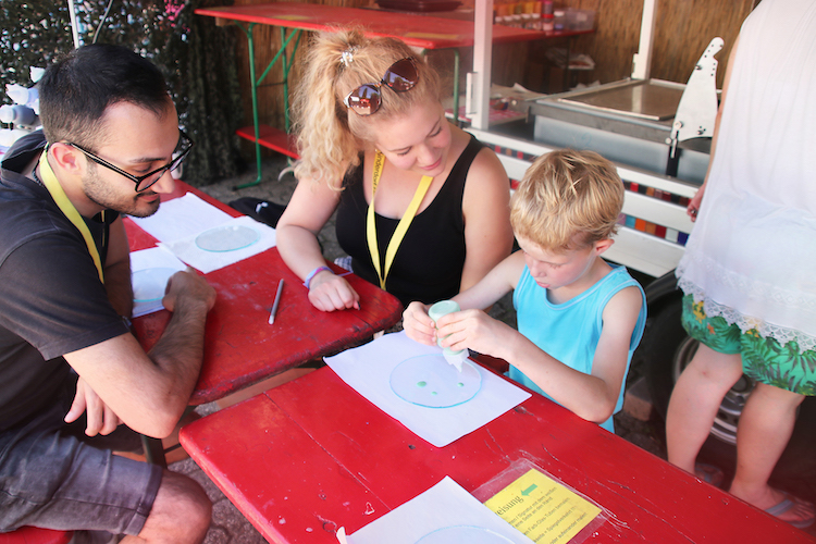 Photo of HüKiDo unterhält wertvolle Unterstützung bei ihrem Ferien-Projekt