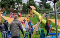 Erster inklusiver Spielplatz an der Goethestraße eingeweiht