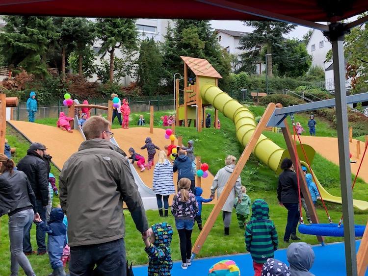 Photo of Erster inklusiver Spielplatz an der Goethestraße eingeweiht