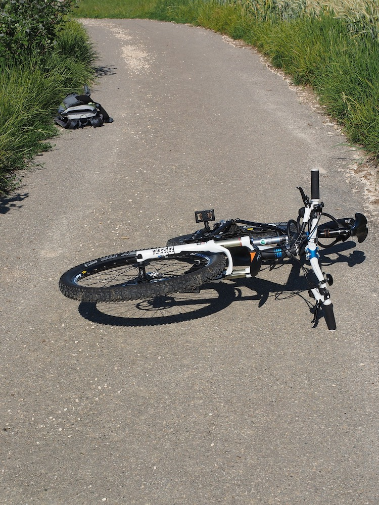Photo of Schwerverletzter Radfahrer an der Wuppertalsperre