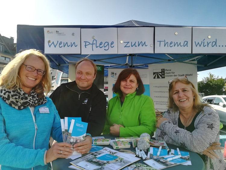 Photo of Senioren- und Pflegeberatung auf dem Wiehler Wochenmarkt