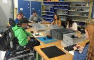 Inklusion erleben – Schüler besuchten vergangene Woche die BWO