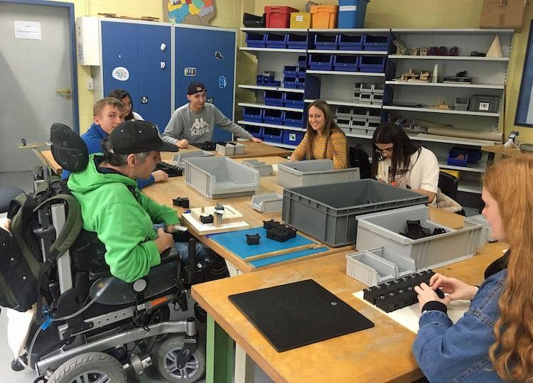 Photo of Inklusion erleben – Schüler besuchten vergangene Woche die BWO