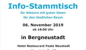 LEADER-Region Info-Stammtisch in Bergneustadt