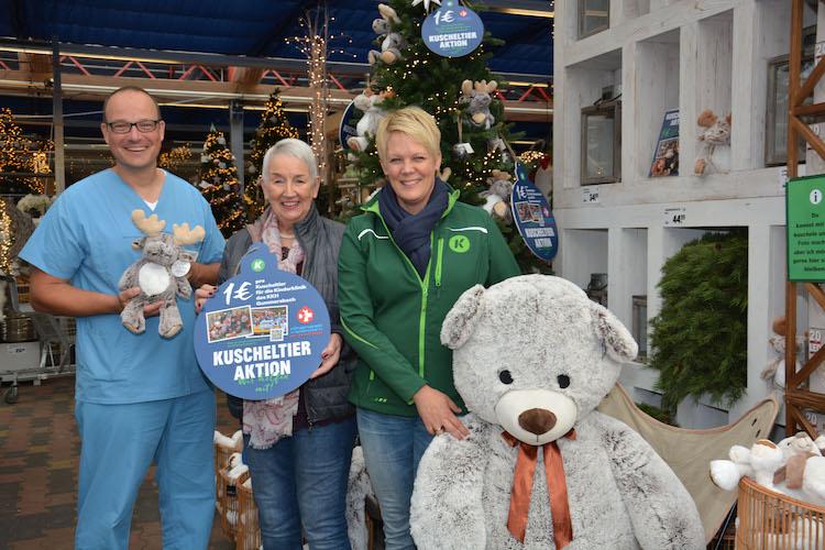 Photo of Verkauf von Kuscheltieren unterstützt Kinderklinik Gummersbach