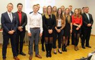 14 Absolventen des Ausbildungsganges zum Notfallsanitäter geehrt