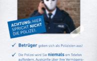 Polizei warnt vor Trick-Betrügern im Oberbergischen Kreis