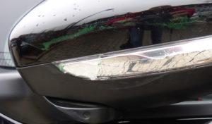 Unfallflucht auf der Huckinger Straße in Hückeswagen