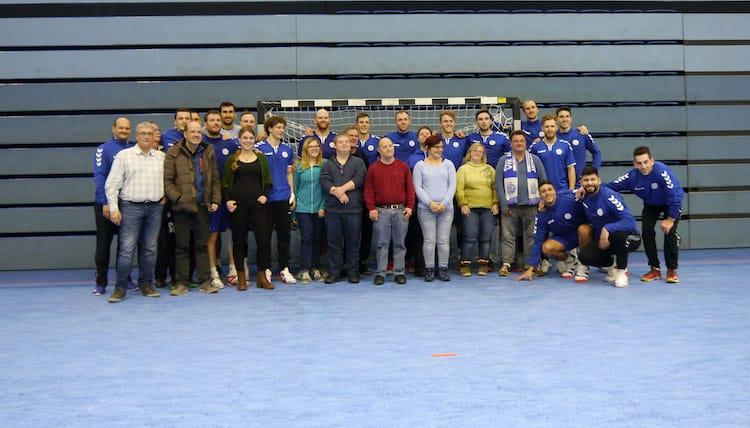Bild von HBW Reporter zu Besuch bei VfL Gummersbach in der Schwalbe Arena