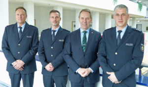 Drei neue Bezirksbeamte für Gummersbach Bergneustadt und Lindlar