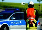 Fahrzeugbrand auf Wanderparkplatz – Pkw komplett ausgebrannt