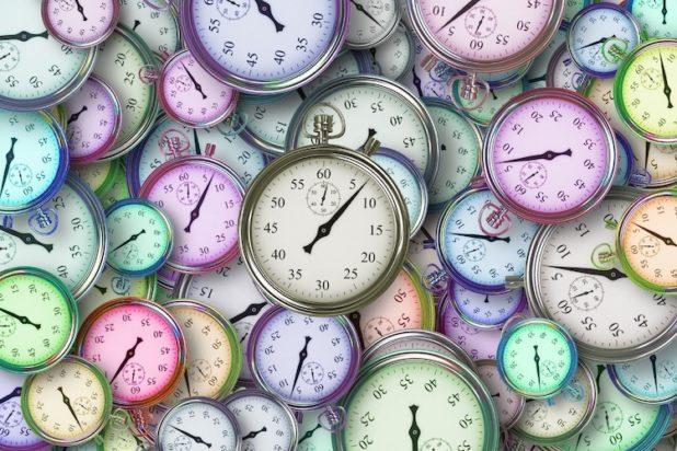 Zeitmanagement muss sich jeder selbst aneignen.
