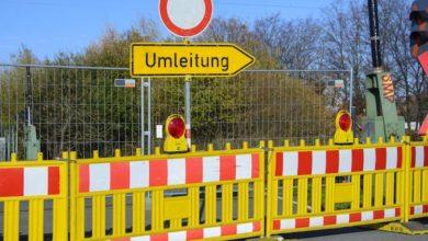 Photo of Sperrung der Grünentaler Straße zwischen Wuppertal und Radevormwald