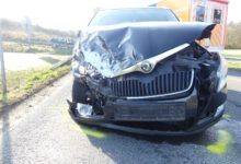 Photo of Unfall im Einmündungsbereich mit hohem Sachschaden