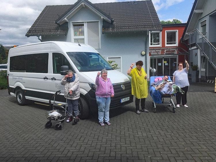 Photo of Neuer Rollstuhl-Bus im HBW Haus Nümbrecht