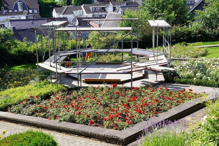 Photo of Der Pavillon im Rosengarten kehrt zurück