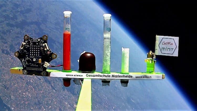 Photo of Helium-Stratosphären-Experiment der GE Marienheide
