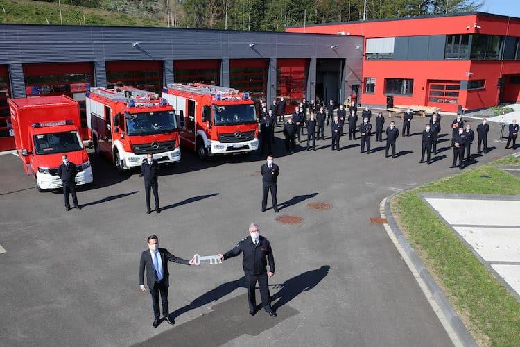 Photo of Sonderveranstaltung der Feuerwehr in Wiehl