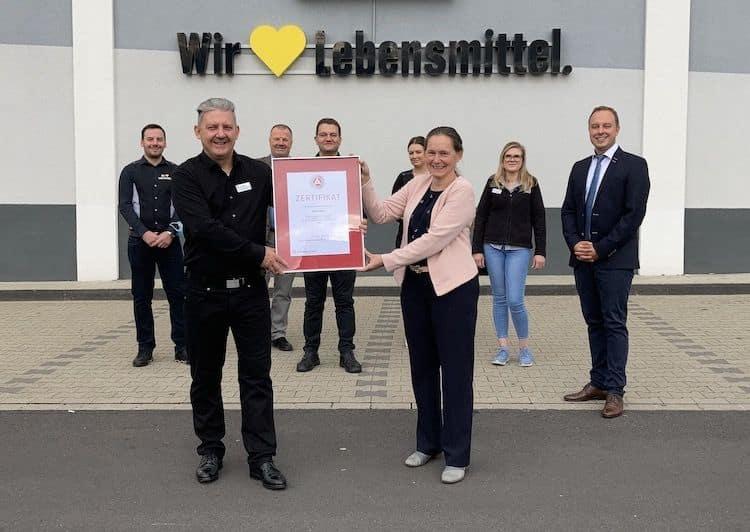 Photo of Edeka Wirths als Ausbildungsbetrieb ausgezeichnet