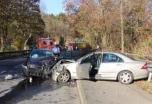 Bild von Schwerer Verkehrsunfall in Wiedenest