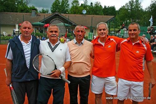 Juppi Frangenberg, Harald Koglin, BMW-Chef Norbert Amelung, Jürgen Pankonin, Jörg Caspari